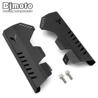 BJMOTO MT 07 MT 07 FZ 07 FZ 07 Motorcycle Radiator Side Cover Protector For Yamaha MT07 FZ07 2014 2017 Motorbikes Accessories