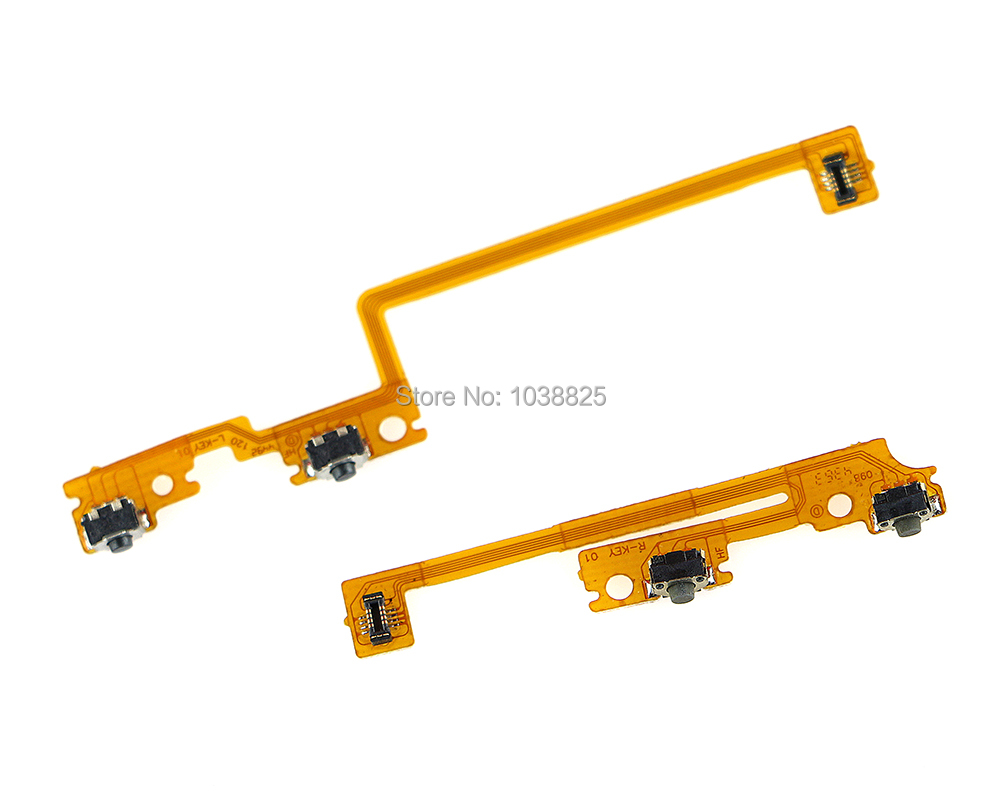 Left Right LR R/L Shoulder Trigger Buttons Switch Flex Cable For New 3DS XL LL For Nintend New 3DS XL LL LR Flex Cable