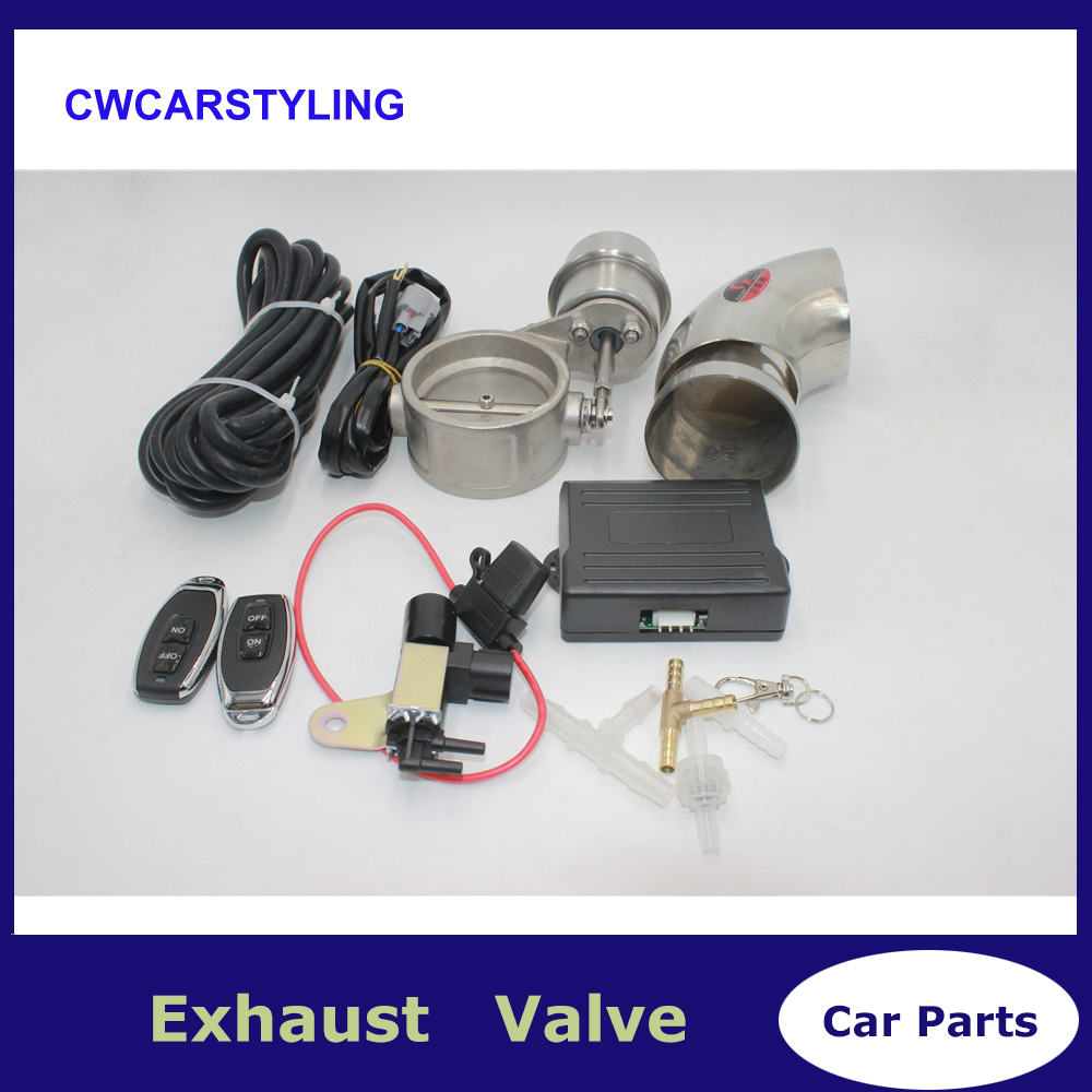 Control Exhaust Valve/Cutout Set With Pump With Wireless Remote Controller Switch Cut Off The Exhaust
