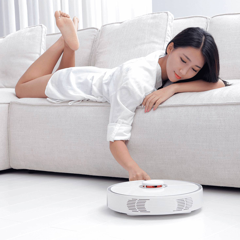 Image 5 - Xiaomi Mi Roborock S50 S55 Robot Vacuum Cleaner 2 / V2 APP Control Dust Sterilize Smart Planned Sweeping Wet Mopping-in Vacuum Cleaners from Home Appliances