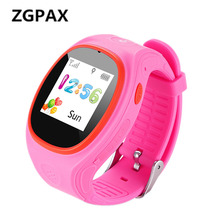 ZGPAX GPS Kid Tracking Watch With SOS LBS Child Smartwatch Dial Call Message Reminder Baby Smart Watches For iphone 6 SmartPhone