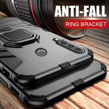 honor 10i Case For Huawei honor 10i case Shockproof Armor Ring Magnetic Car Hold Soft Bumper Cover For Huawei honor 10i Case