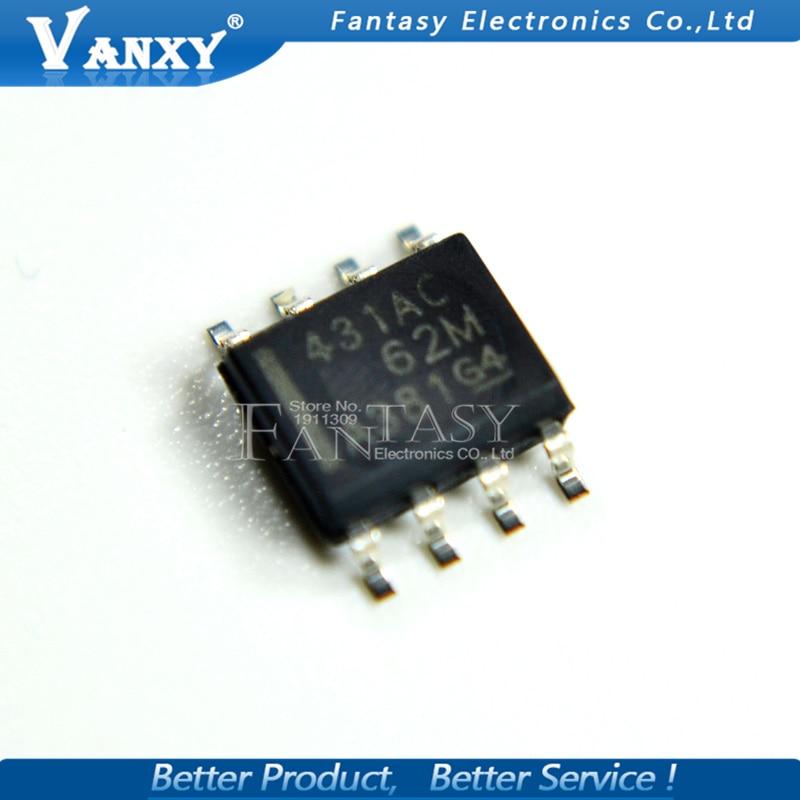 10PCS TL431ACDR SOP8 TL431AC SOP 431AC SMD TL431 SOP-8 TL431ACDT New And Original IC