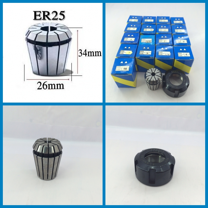 ER25 Collet Set 17 pcs from 2mm to 16mm with ER25 Nut for CNC Spindle Motor and Milling Lathe tool atamjit singh pal paramjit kaur khinda and amarjit singh gill local drug delivery from concept to clinical applications