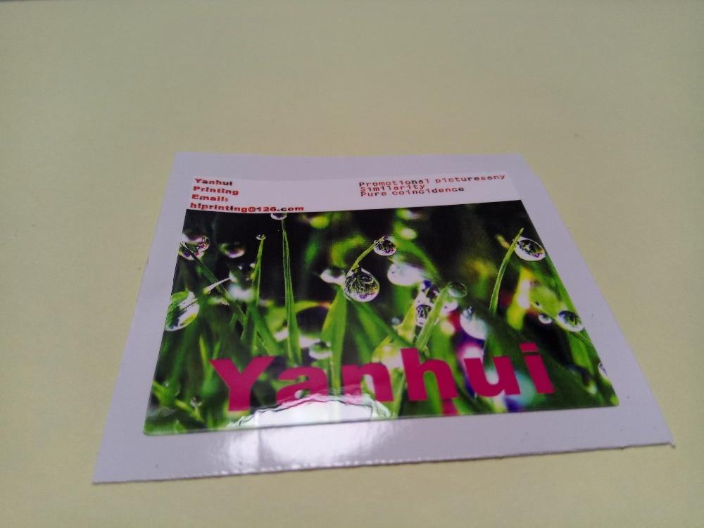 2x2 inch white vinyl sticker printing custom