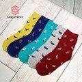 Kpop Pure Cotton Boho Female In Tube Socks Dog Fish Luxury Office/Career High Quality Lovely Cats Women Short Socks GEM STREET