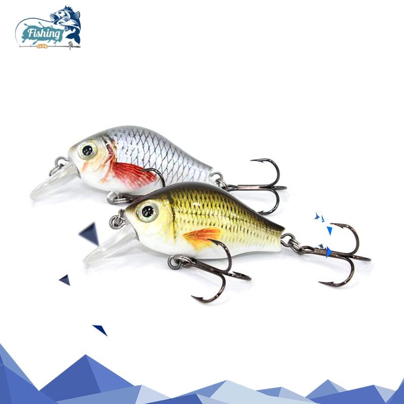 цена на 1 PCS Fishing Lure Crankbait Artificial Hard Lure Mini 45mm 8.6g Minnow Crank Bait Fishing Topwater Wobblers Minnow Fish Lures