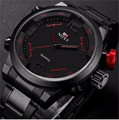 Brand SOXY Men Watch Luxury stainless steel watches sports big dial quartz Military Wristwatch masculino male black silver Relog
