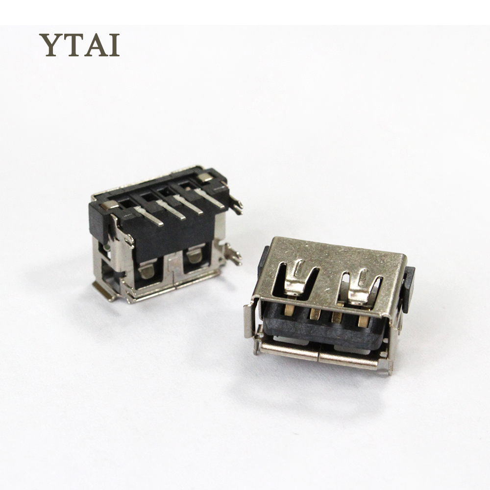 YTAI Original new 2.0 USB Jack USB Connector USB 2.0 data port 4 for Laptop ASUS HP DELL Lenovo Toshiba motherboard ...