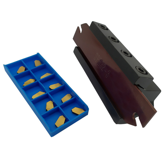 SMBB3225 Cut off the cutter bar Cutting tool rod SPB323 cutter holder FOR SP300 NC3020