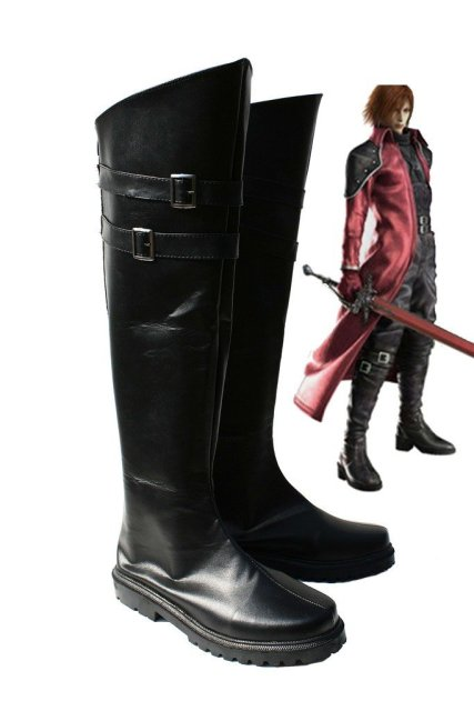 Final Fantasy VII FF7 Genesis Rhapsodos Cosplay Shoes Boots Custom Made