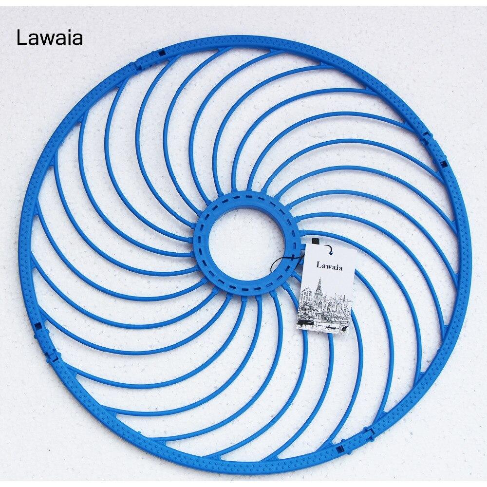 Lawaia 48 cm Fischernetz Ring Kunststoff Angeln Ring Bule Ring Fischernetze Ringe Werfen Hand Amerikanischen Fishing Network