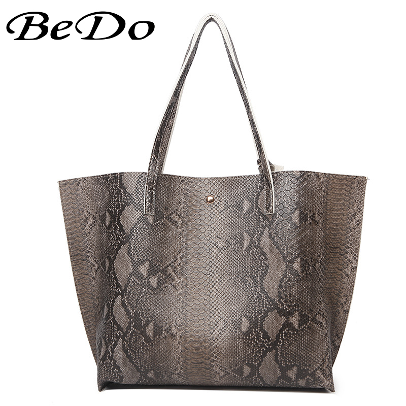 Bedo Brand Brown Handbag Women Shoulder Bag Female Casual Large Tote Bags High Quality Artificial Leather Las Hobo Handbags In Top Handle From