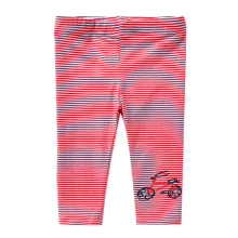 Children Pants 2017 New European And American Style Kids Striped Patchwork Pattern Full-Length Pants Girls Casual Clothing Pants