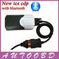 Горячие Продажи Нового VCI Bluetooth TCS CDP Pro с BT лучший Чип 2014 R2/2015. R1 + С Led Для Автомобилей/Грузовики/Generic 3in1 Диагностический инструмент