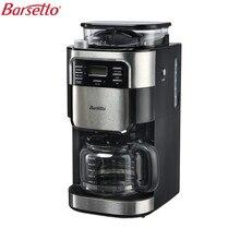 Barsetto BAA025-GS 230 В 900 Вт автоматический растереть фасоли капельный кофе машины Кофе чайник для бытовых ЕС