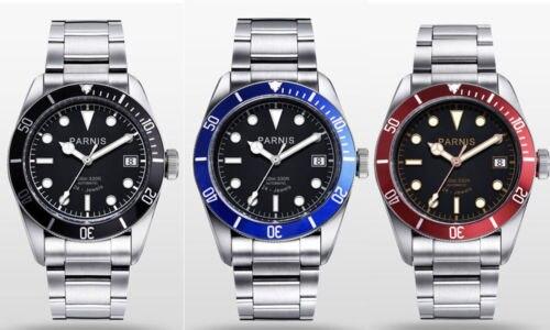 41mm Parnis Black Dial Sapphire Glass Luxury Brand Deployment clasp Luminous Hands Date Miyota Automatic Movement men's Watch