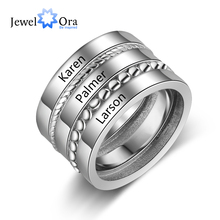 Rings Jewelry-Accessories Stackable Gift Custom Female Jewelora-Ri103818 Personalized