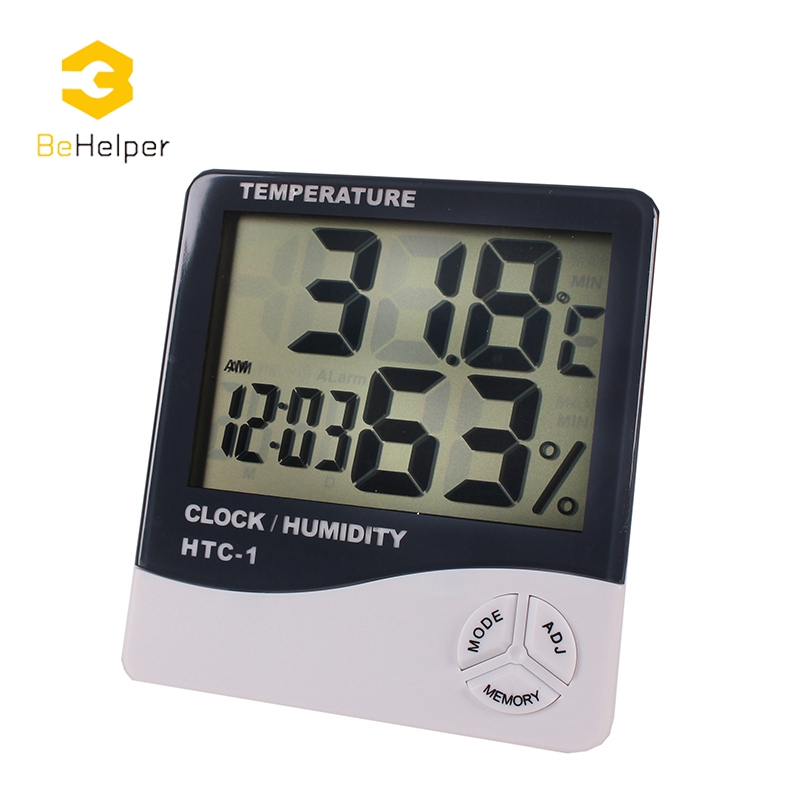 Behelper Digital Thermometer Hygrometer Electronic