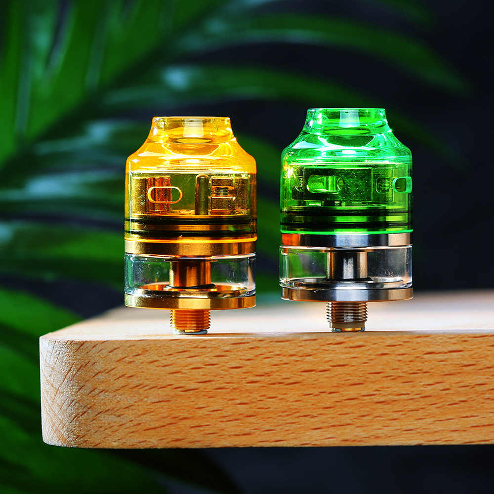 Authentic OUMIER WASP NANO RDTA Tank 2ml 22mm Diameter Atomizer Easy Building Deck for Box mod WASP NANO vs Manta RTA/ Zeus X