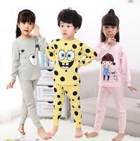 Boys Girls Sleepwear Autumn Winter Clothes Kids Pajamas Set Children S Clothing Set Baby Boy Cartoon