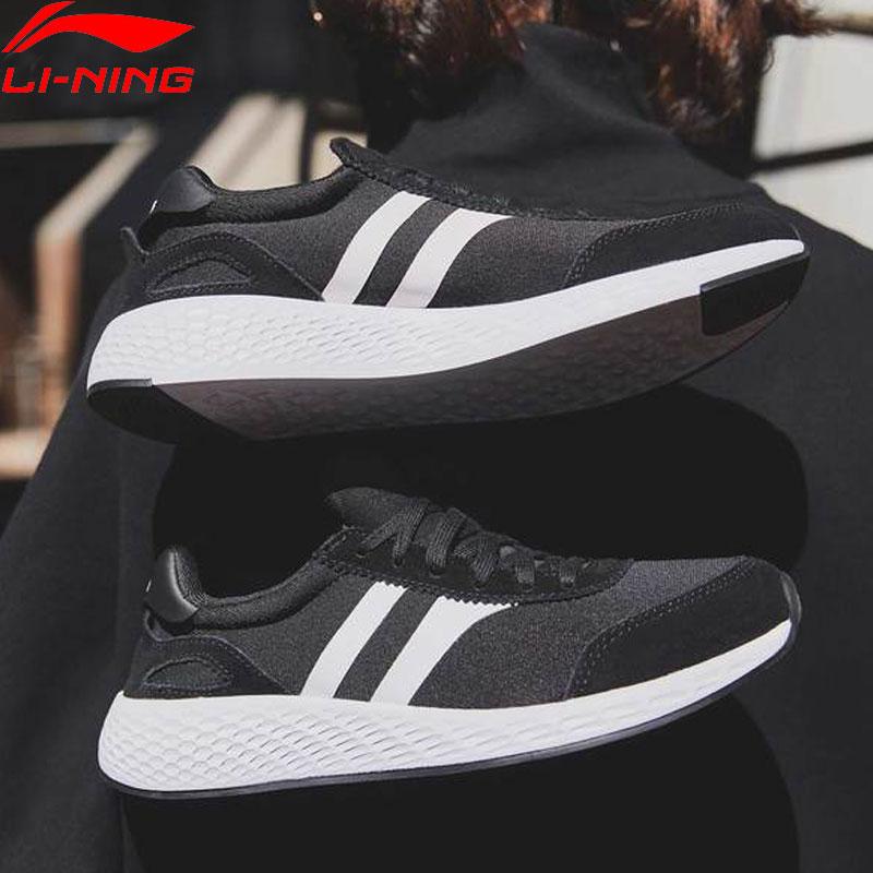 Li Ning Women LN STRIPE Classic Lifestyle Shoes Light Wearable LiNing Sport Shoes Fitness Leisure Sneakers