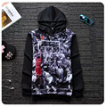 Jordan Lore 23 Hooded Sweatshirts Hedging Printing Thrasher Hoodie Outdoors Clothes Creative Personality Chandal Hombre M-4XL