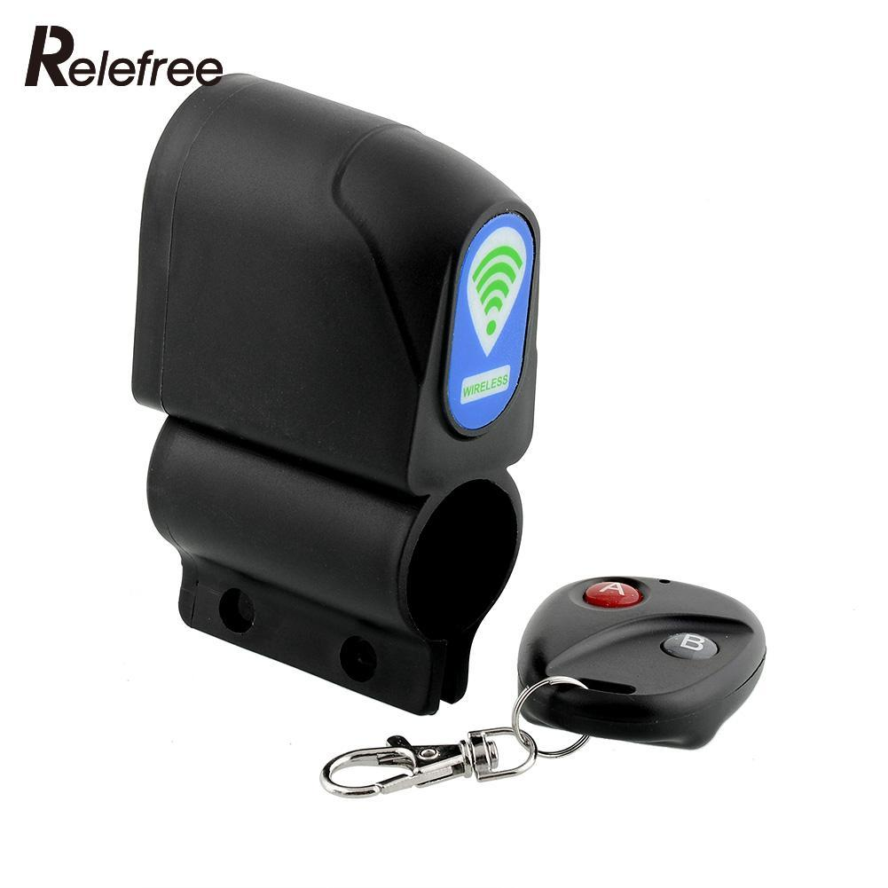 Anti-theft Bicycle Lock Security Cycling Wireless Remote Control Vibration Bike Alarm Super...