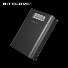 Gold Winner 2019 ISPO Award NITECORE F4 2 in 1 Four slot Flexible Power Bank & Battery Charger with LCD Display