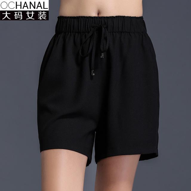 2016 de Gran Tamaño de Cintura Alta Pantalones Cortos Mujeres de Verano de Europa Estilo Nuevo Corto Feminino Wholesale Pantalon Femme Taille Haute