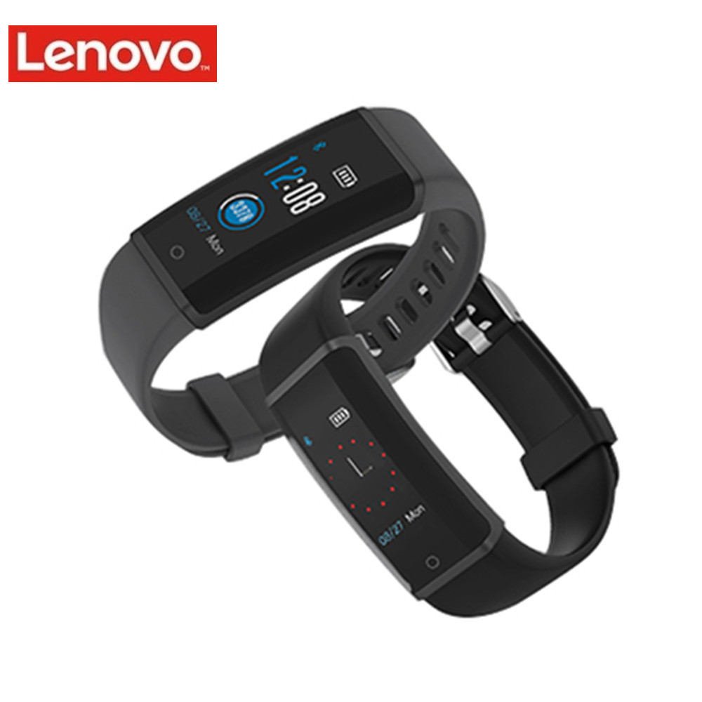 Lenovo HX03F Waterproof Smart Bracelet Wristband Fitness Tracker Bluetooth Smart Watch Heart Rate Monitor Support iOS / Android цена в Москве и Питере