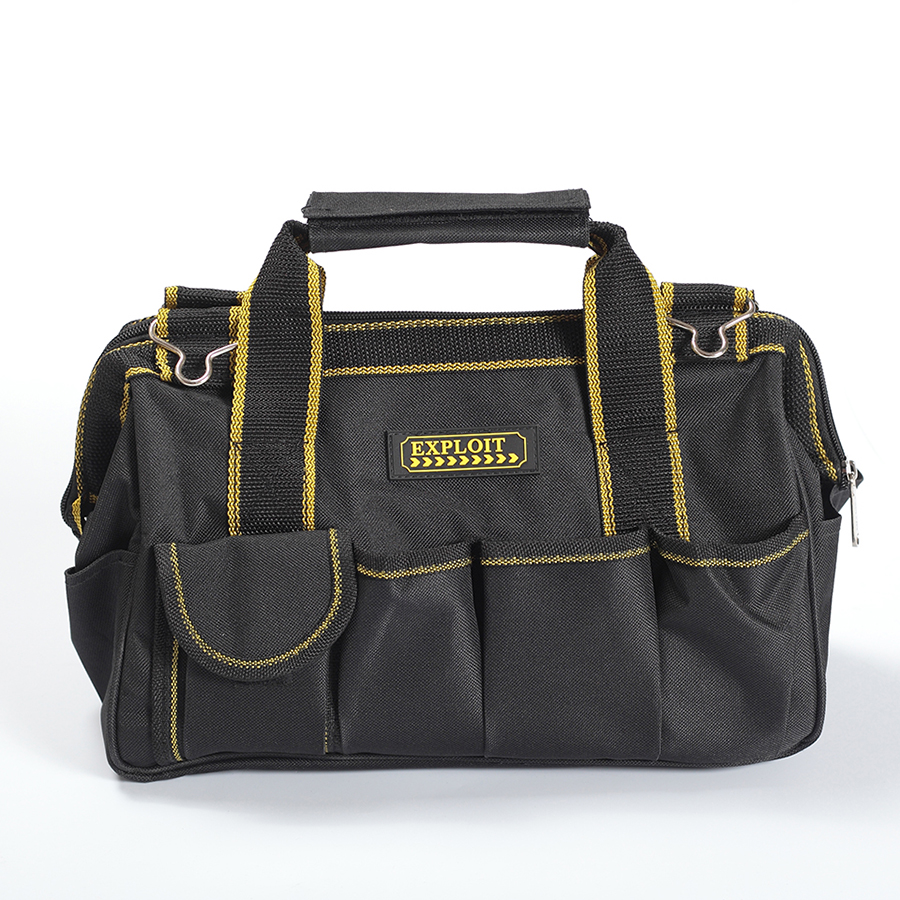 600D Foldable Tool Bags Close Top Wide Mouth Shoulder Bag Handbag Tool Organizer Storage Bag cropped wide sleeve top