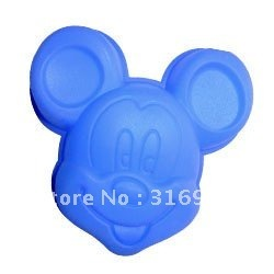 D3 Free shipping! Mickey mouse shaped cake pan,bakeware,11.5*11*2cm silicone cake mold