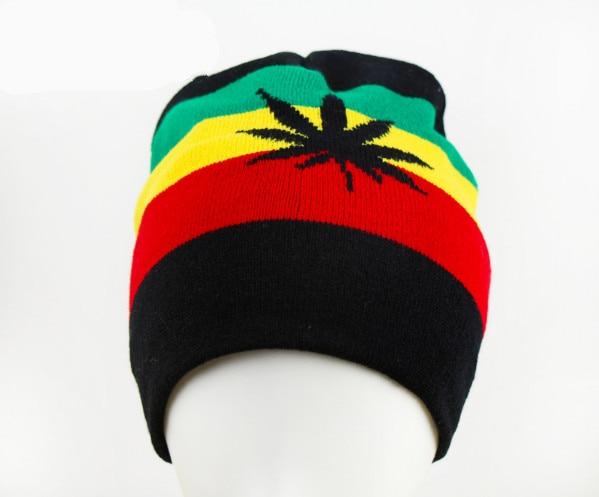 Reggae hiphop hip-hop reggae rasta knitted hat knitted hat Jamaican reggae  hip-hop reggae Mama war rasta knit cap wool cap 8db40153149