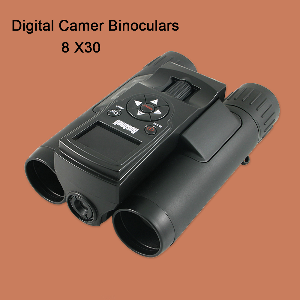 BUSHUNEII 8X30 Hunting Digital Camer Binoculars 12MP 1280x720P HD Video Photo Telescope Fits for SD Card