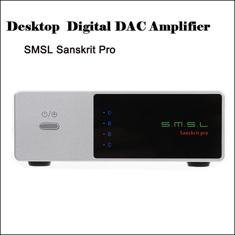 Digital-analog-wandler Unterhaltungselektronik WunderschöNen Smsl Sanskrit Pro Desktop Dac Verstärker Audio Decoder Ak4490eq Dsd Dac Audio Verstärker Hifi Usb Optische Koaxial Inputer Amp