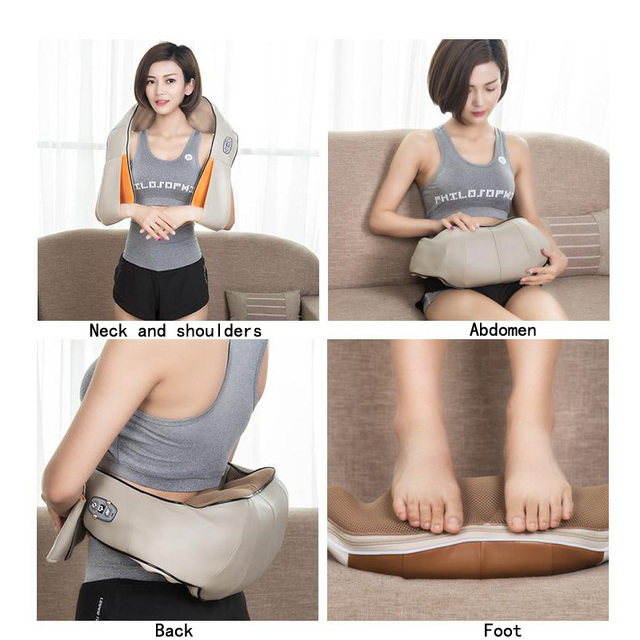 New multi-functional massage shawl kneading the neck and shoulder waist cervical massager