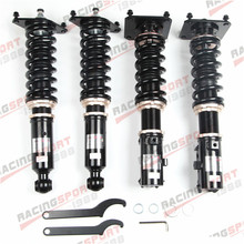 32 Step Mono Tube Coilovers Lowering Suspension Kit For M-azda Rx-7 FC3S 87-91 for mazda rx7 rx 7 fc3s 86 91 coilover suspensions kit shock absorber strut red
