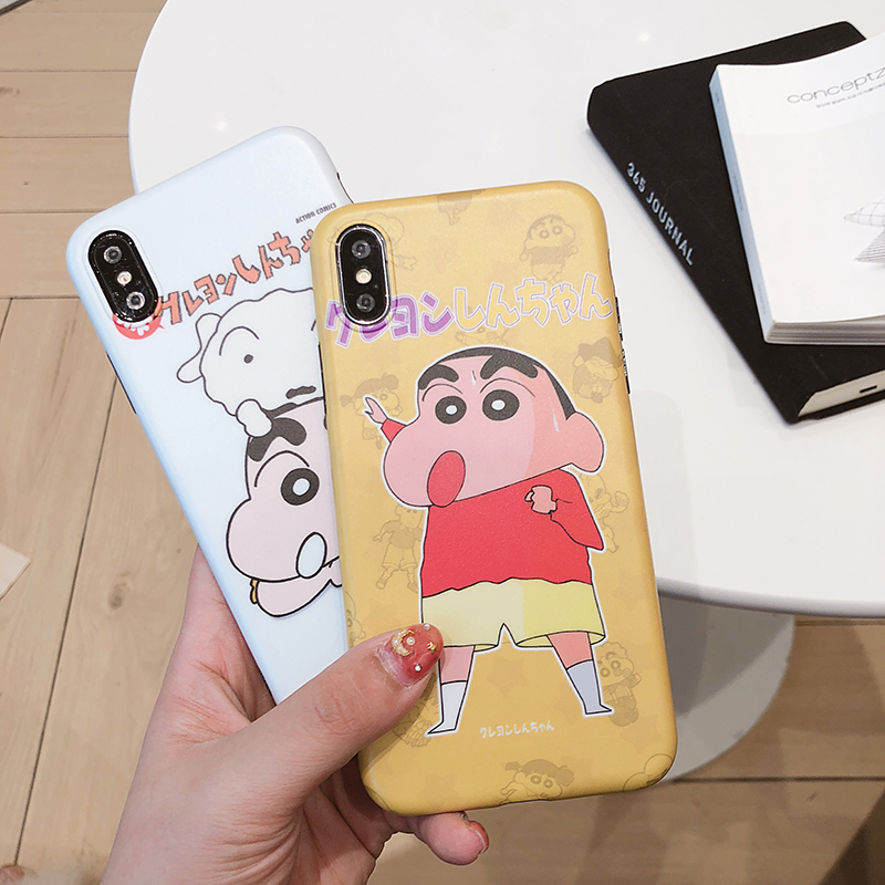 Cute Cartoon Crayon Shin Chan Cover For IPhone 6 6s 7 8
