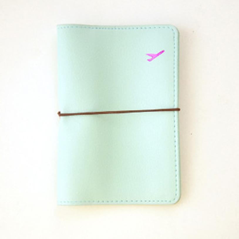 New Travel Leather Passport Holder Card Case Protector Cover Wallet Bag Designer Wallets High Quality june26