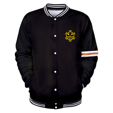 Hot New One Piece 3D Baseball Jackets Men Print Sweatshirts Women Casual 3D Jackte One Piece Sweatshirts Mens Baseball Jacket