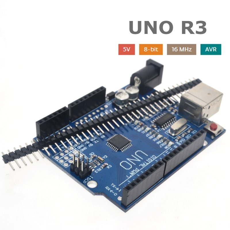 high quality One set UNO R3 (CH340G) MEGA328P for Arduino UNO R3 + USB CABLE ATMEGA328P-AU Development board 2