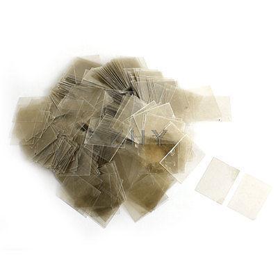 22mm x 29 cm x 0.09mm feuilles isolantes Mica remplacement 500 pièces