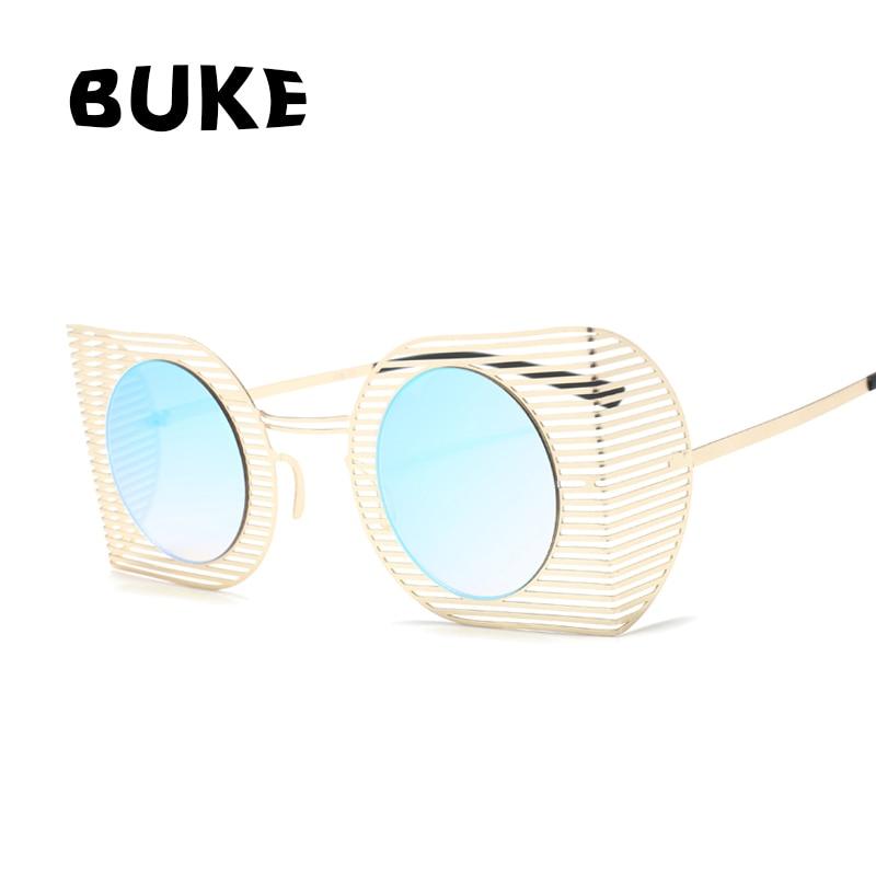 BUKE Latest Fashion Women\'s Sun glasses Design Multilateral Lens ...
