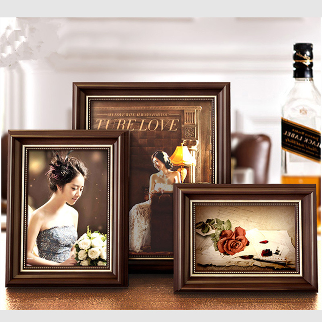1 Piece/Set High Quality Collage Frames For Family Plastic Carving ...
