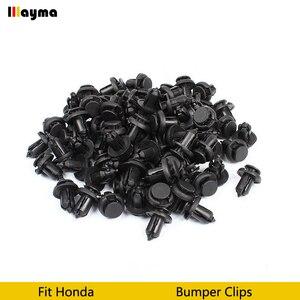 Image 2 - Пластиковые клипсы для автомобильного бампера, фиксаторы фиксации, заклепки, дверная панель, брызговик для Honda Civic CRV Accord odysey