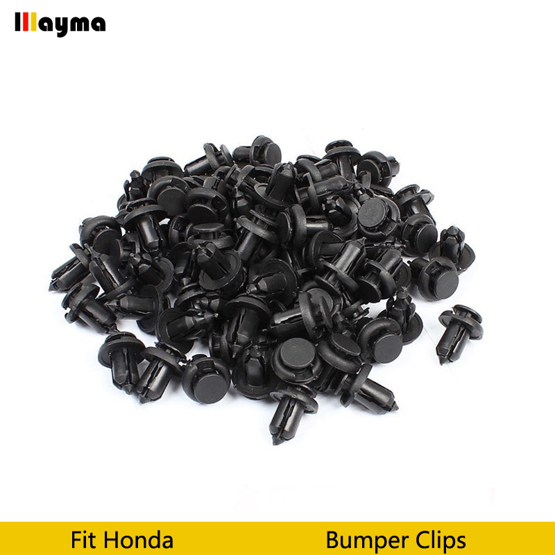 Image 2 - Plastics clips Auto Vehicle Car Bumper Clips Retainer Fastener Rivet Door Panel Fender Liner For Honda Civic CRV Accord Odyssey-in Auto Fastener & Clip from Automobiles & Motorcycles