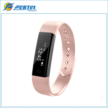 In Stock ID115 Smart Bracelet Fitness Tracker Step Counter Fitness Wristband Alarm Clock Vibration Wristband pk fit bit miband2