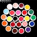 24 Colors Nail Art UV Gel Polish Pure Mix Color Extension Professional Manicure Nails Polish Decorations Beauty Tools Set