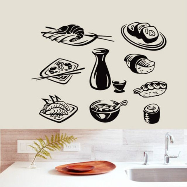 Vinyl Food Decals